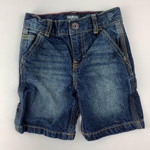 Boys' Osh Kosh denim cargo shorts, 3T